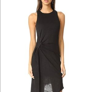 Kendall & Kylie asymmetrical ruched dress